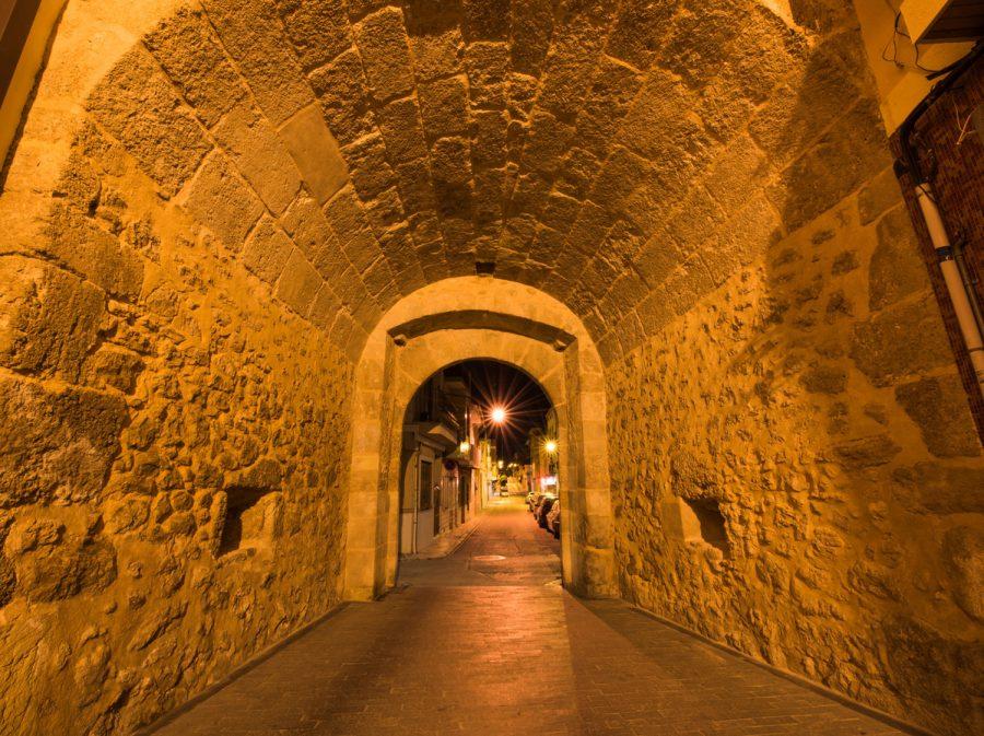 Portal Bétera nocturno 1