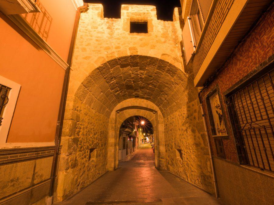 Portal Bétera nocturno 2
