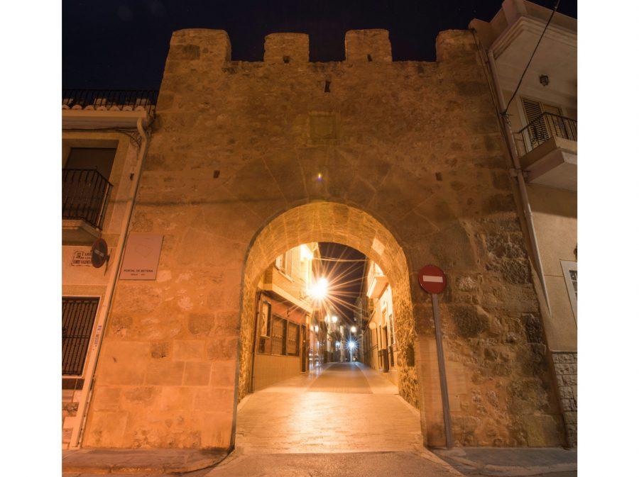 Portal Bétera nocturno 3