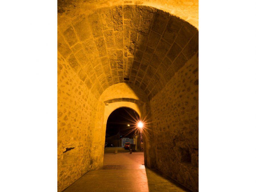 Portal de Valencia nocturno 1