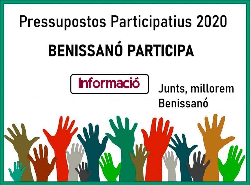Presupuestos participativos 2020