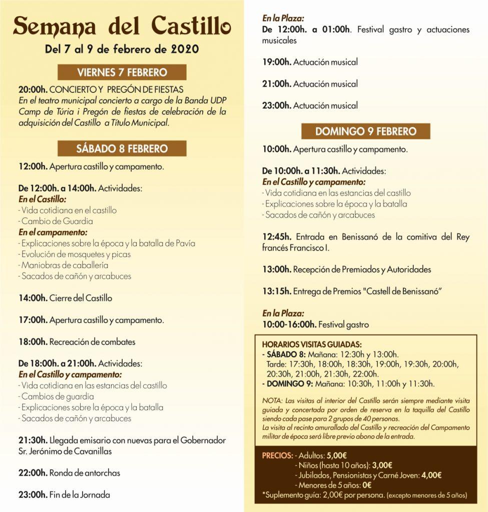 Semana del Castillo 2020