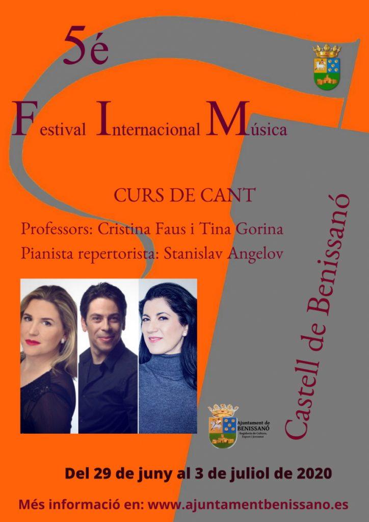 Curso de canto - V Festival Internacional de Música