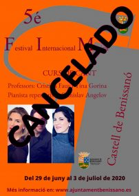 cancelacio FIM 2020 a Benissanó